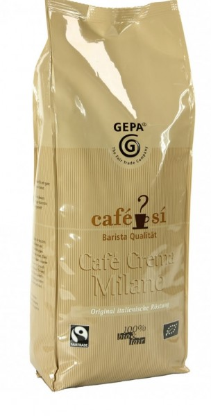 Milano Bio Cafe Crema - Cafe Sí von GEPA