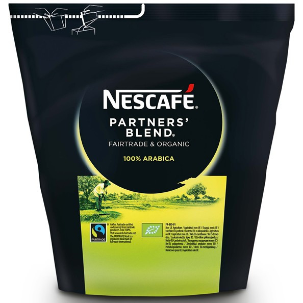 Nescafé Partners Blend – Bio & Fairtrade