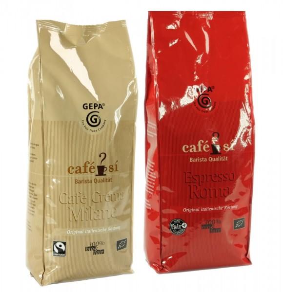 Café Sí Spezialitäten im Probierpaket