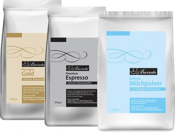Barreto-Kaffee Spar-Set