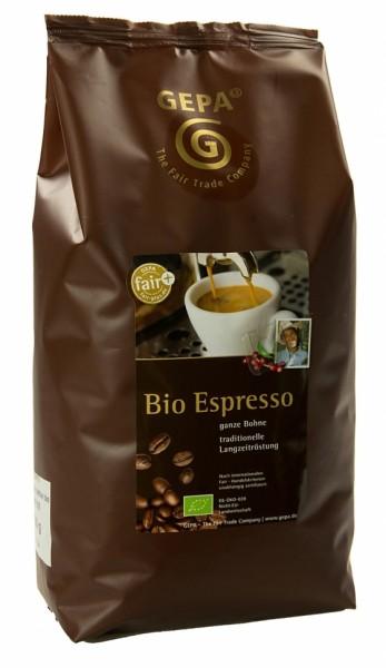 Bio & Fairtrade Espresso von GEPA
